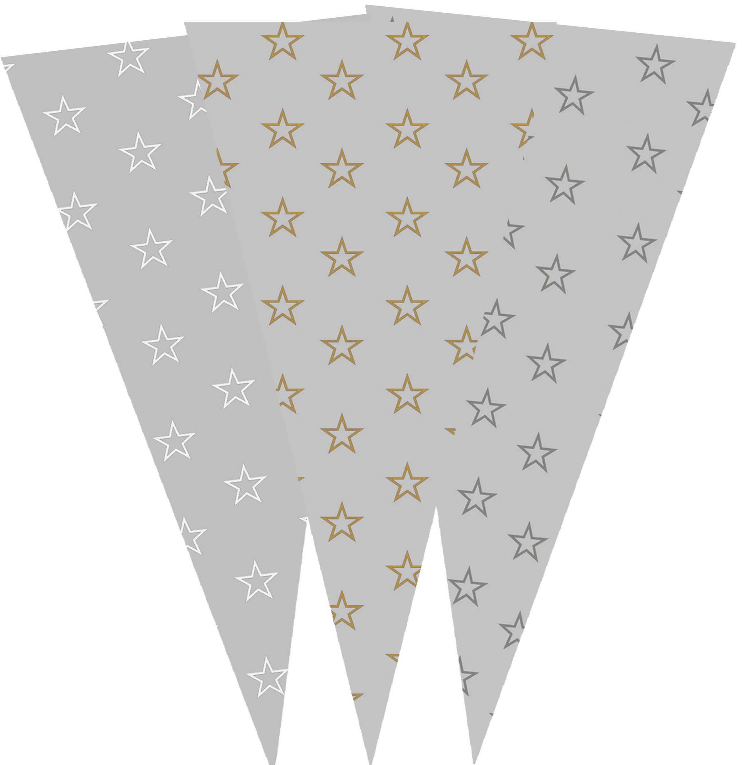 40415 Bolsa Cono 20X40 Estrellas Caja Surtida Image