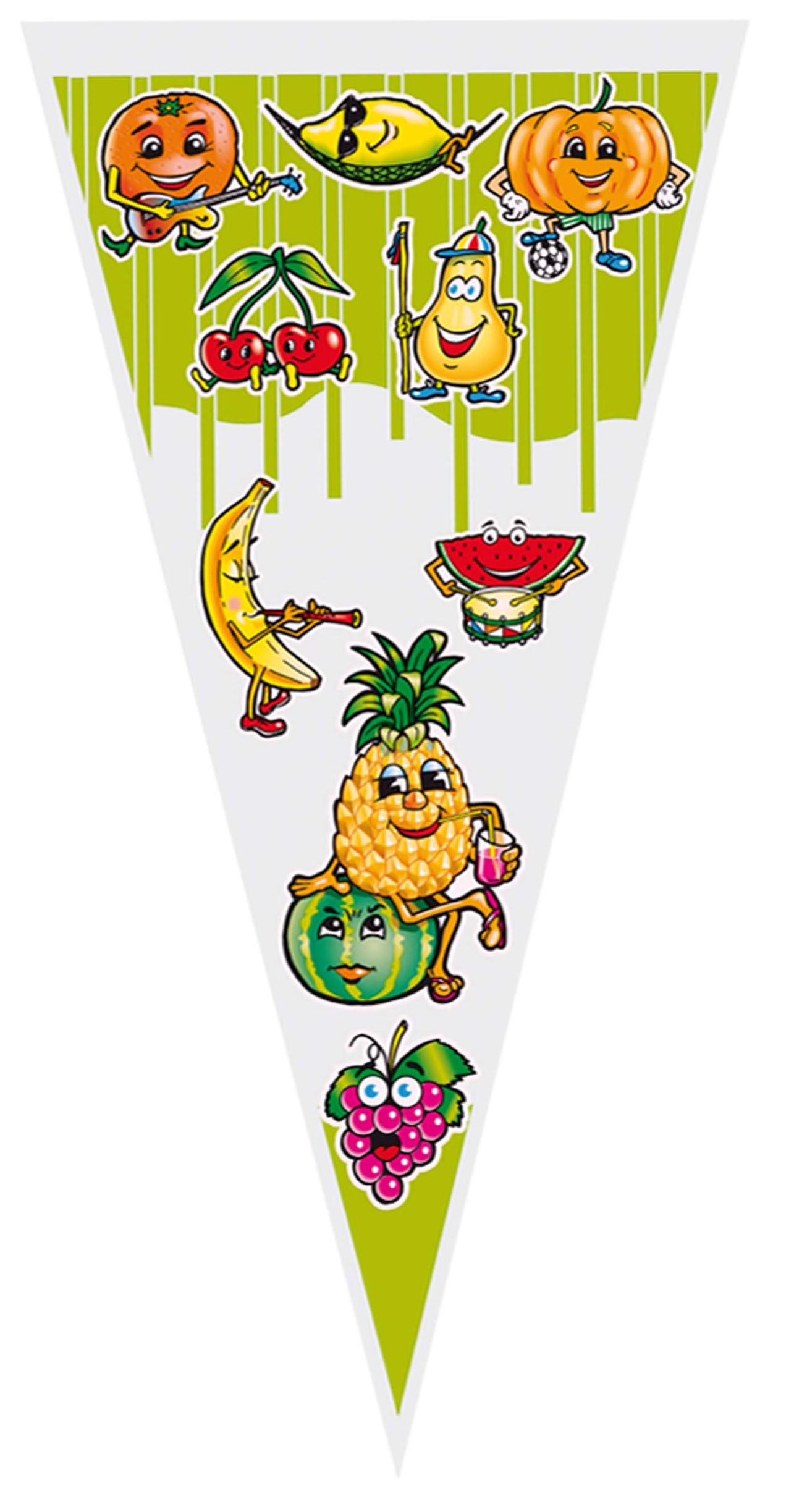 40982 Bolsa Cono 20X40 Frutas Image