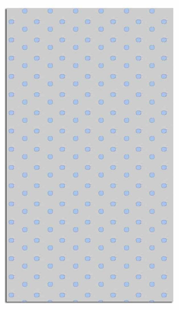 41159 Bolsa 10X20 Puntos Pastel Azul Image