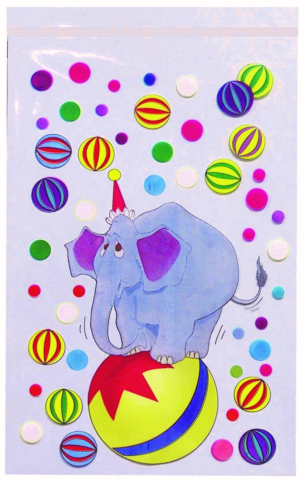 40799 Bolsa 20X30 Con Adhesivo Elefante Image