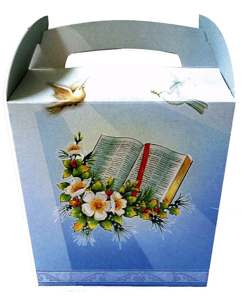 40010 Caja Baul Comunión Libro Image