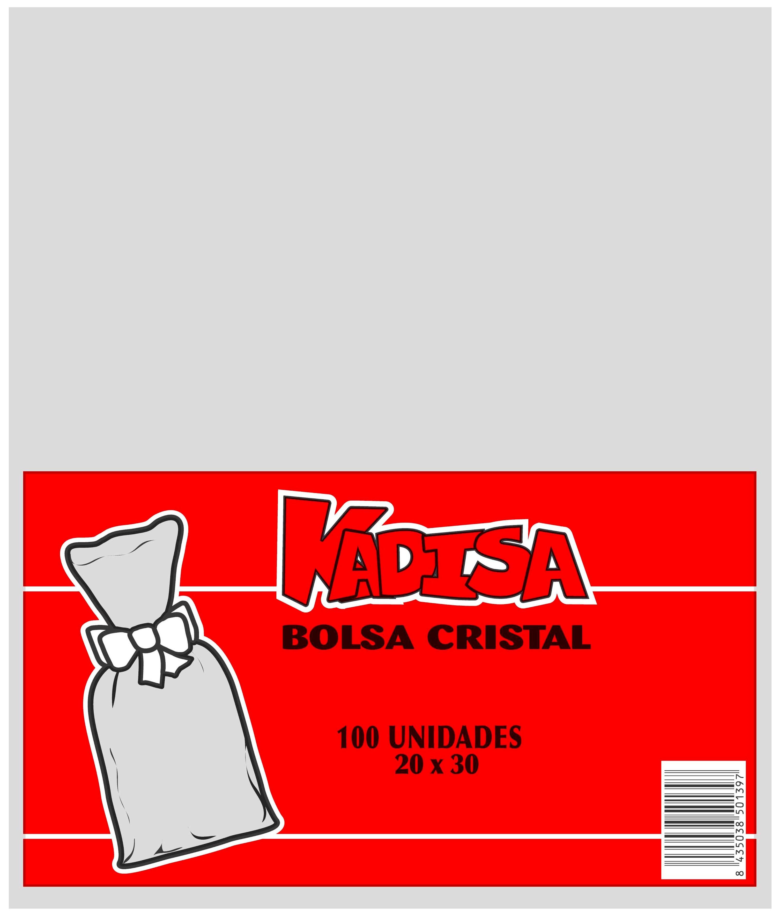 40753 Bolsa Cristal Transparente 20X30 Image