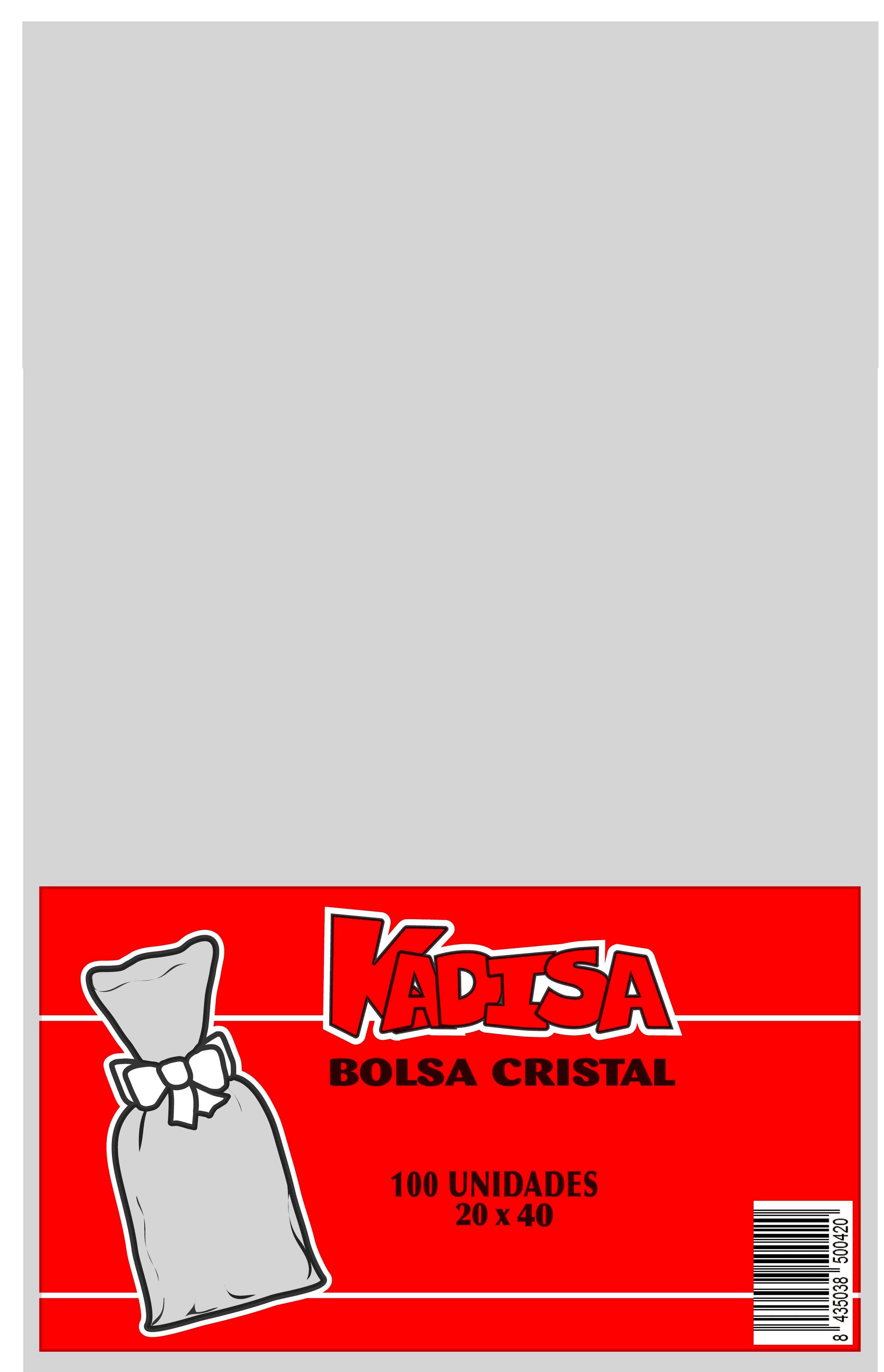40789 Bolsa Cristal Transparente 20X40 Image