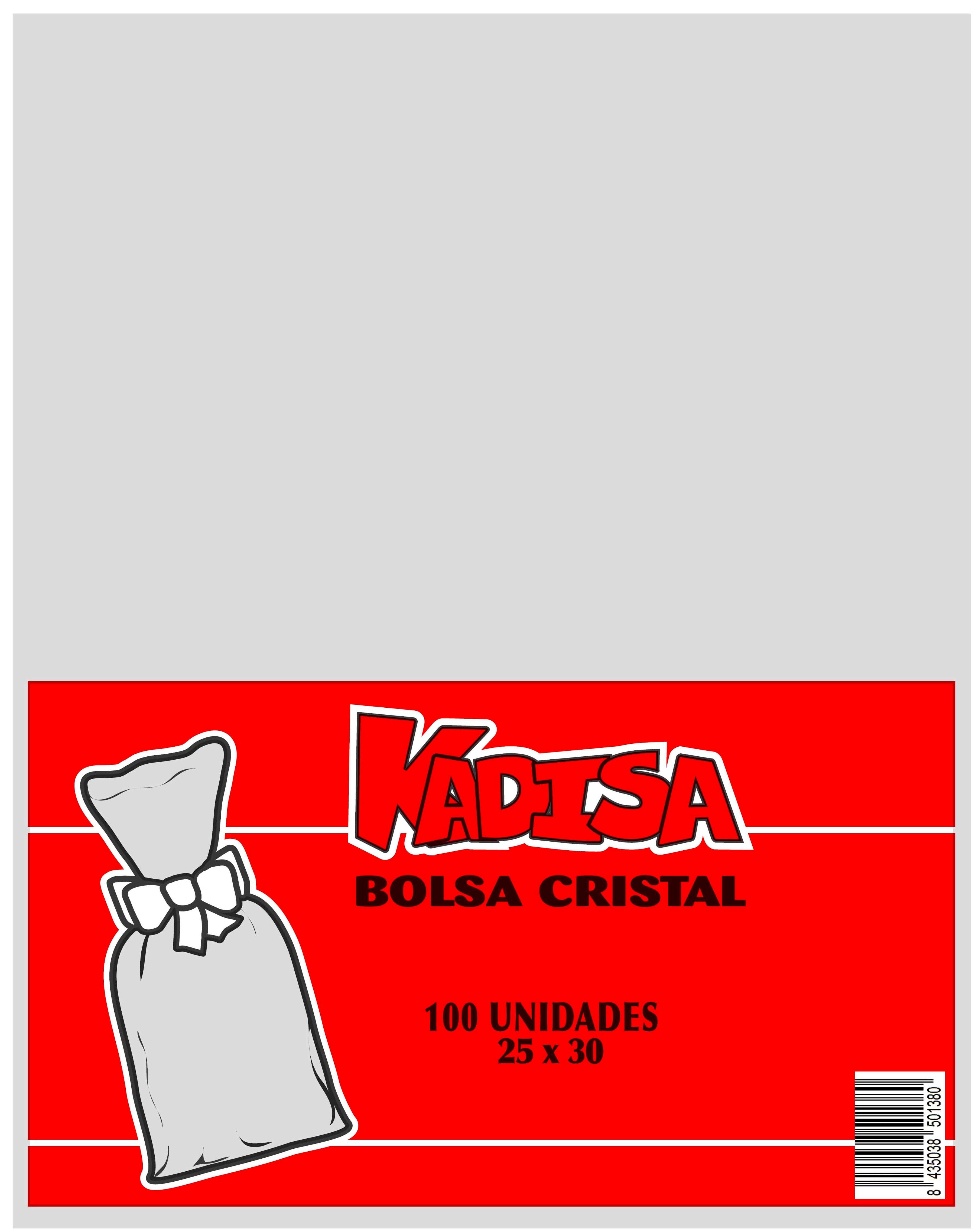 41001 Bolsa Cristal Transparente 25X30 Image