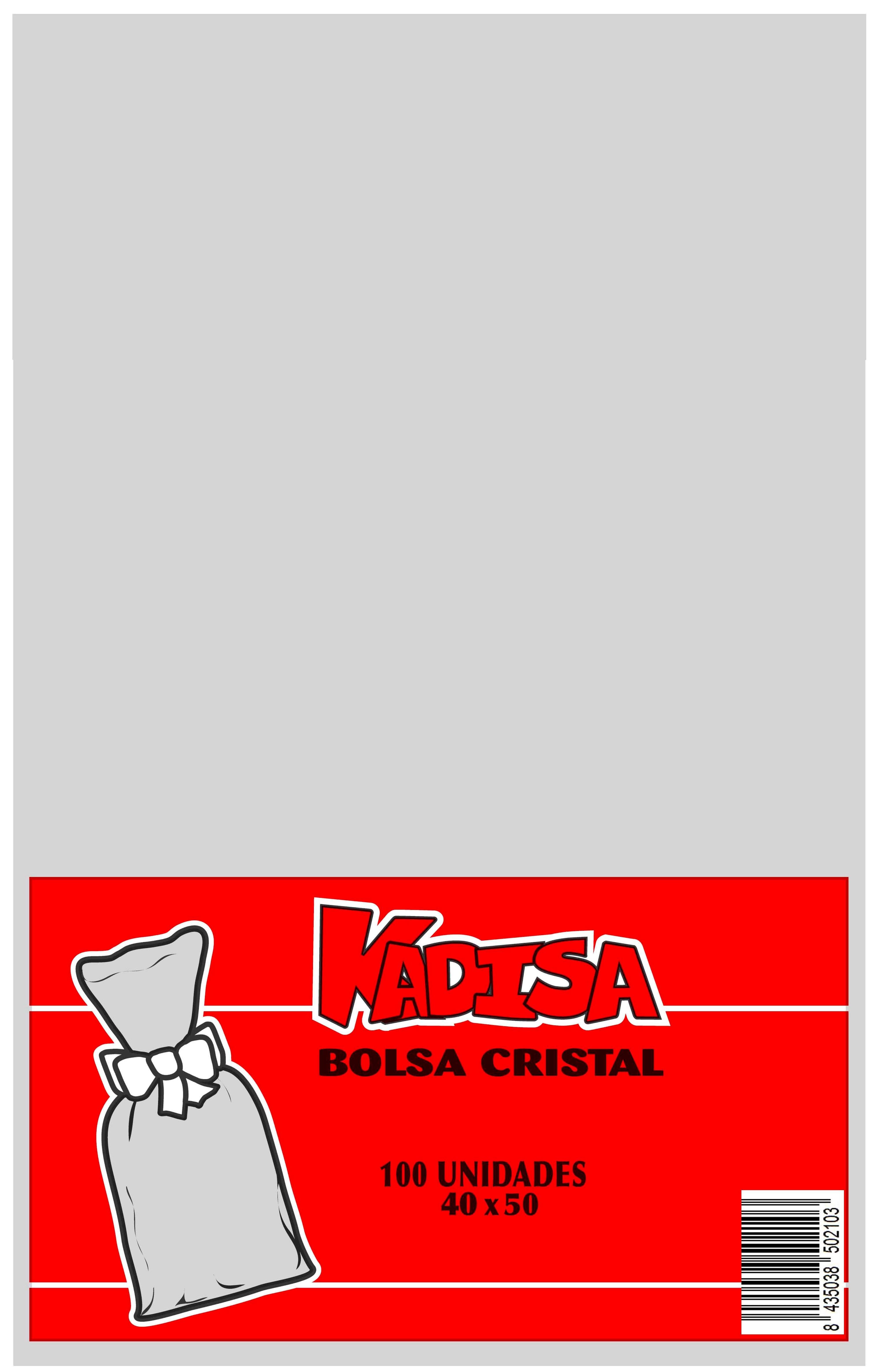 41004 Bolsa Cristal Transparente 40X50 Image