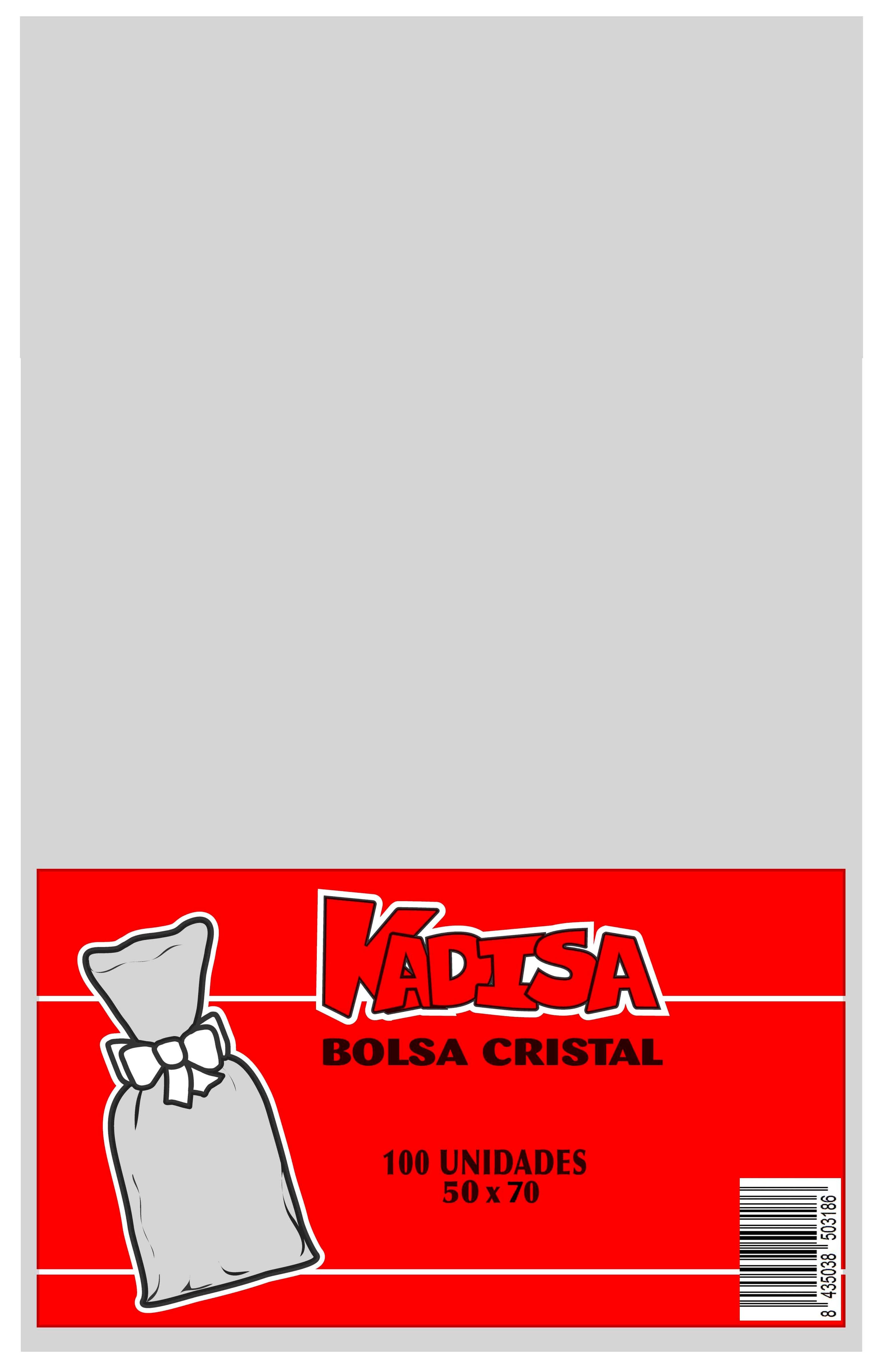 41192 Bolsa Cristal Transparente 50X70 Image
