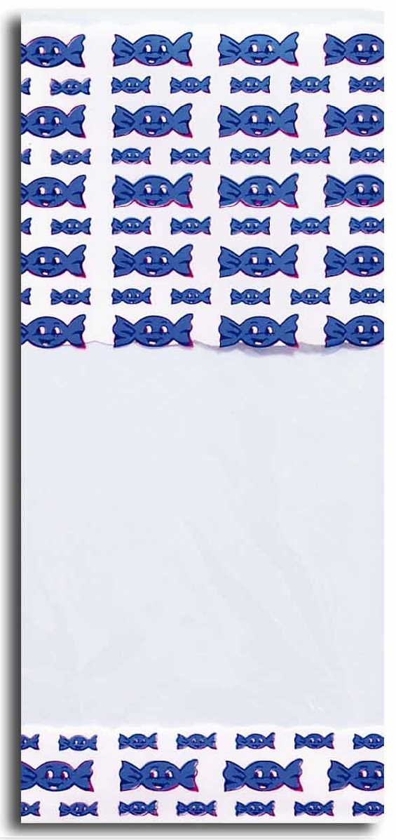 40821 Bolsa 12X25 Corazones Azules Image
