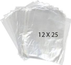 40755 Bolsa Transparente Polietileno 12X25 Image