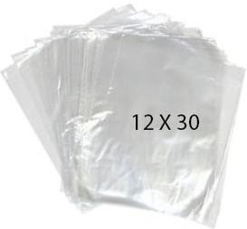 40756 Bolsa Transparente Polietileno 12X30 Image