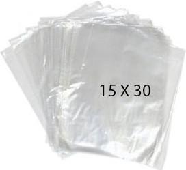 40759 Bolsa Transparente Polietileno 15X30 Image