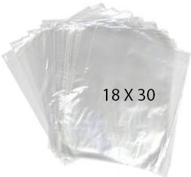 40761 Bolsa Transparente Polietileno 18X30 Image
