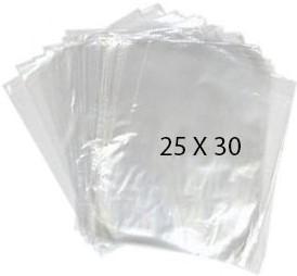 40765 Bolsa Transparente Polietileno 25X30 Image