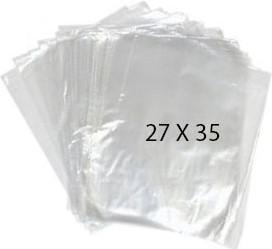40773 Bolsa Transparente Polietileno 27X35 Image