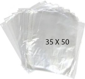 40775 Bolsa Transparente Polietileno 35X50 Image