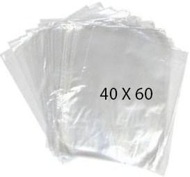 40776 Bolsa Transparente Polietileno 40X60 Image