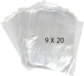 40754 Bolsa Transparente Polietileno 9X20 Image